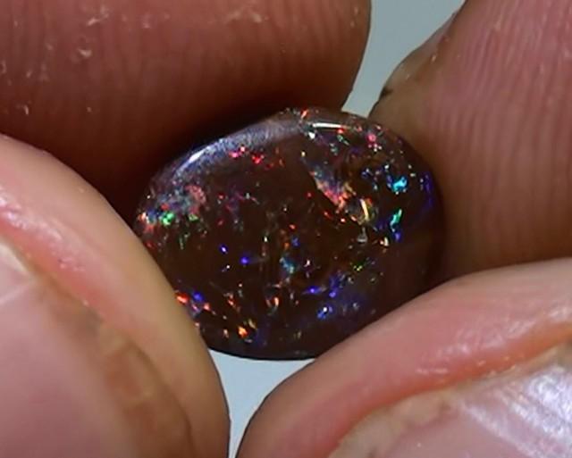 1.60 ct Koroit Boulder Opal Matrix With Gem Multi Color