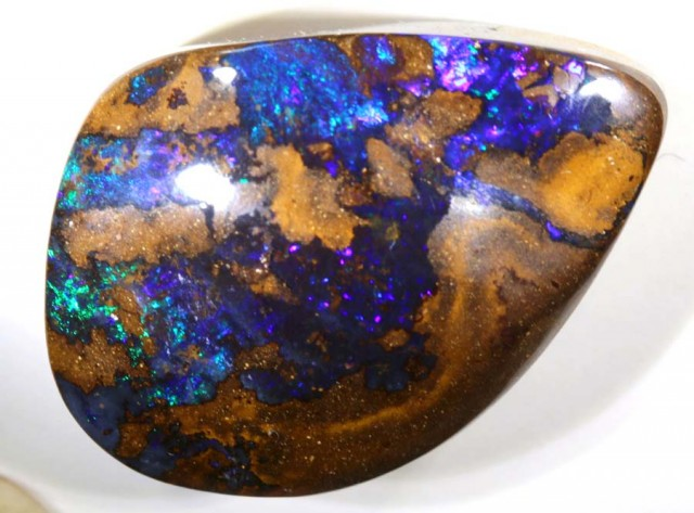 41.5CTS QUALITY BOULDER OPAL POLISHED STONE INV-761