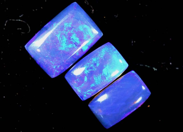 1.05 CTS CRYSTAL OPAL POLISHED PARCEL 3PCS TBO-7238