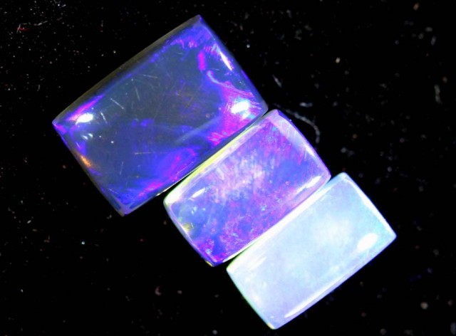 0.95 CTS CRYSTAL OPAL POLISHED PARCEL 3PCS TBO-7243