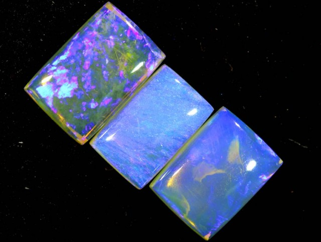 3.50 CTS CRYSTAL OPAL POLISHED PARCEL 3PCS TBO-7249