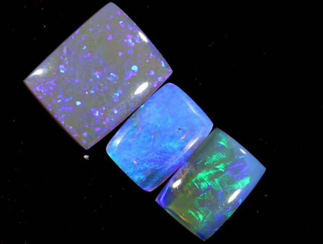 3.30 CTS CRYSTAL OPAL POLISHED PARCEL 3PCS TBO-7257