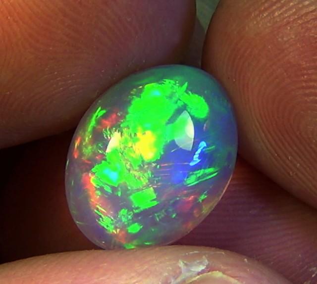 5.15 cts Ethiopian Welo BRUSH STROKES opal N7 4,5/5