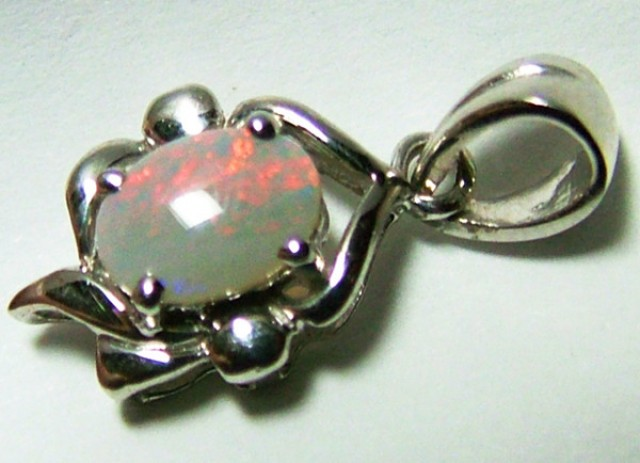5 CTS SOLID OPAL PENDANT/ 925 SILVER OF-2039