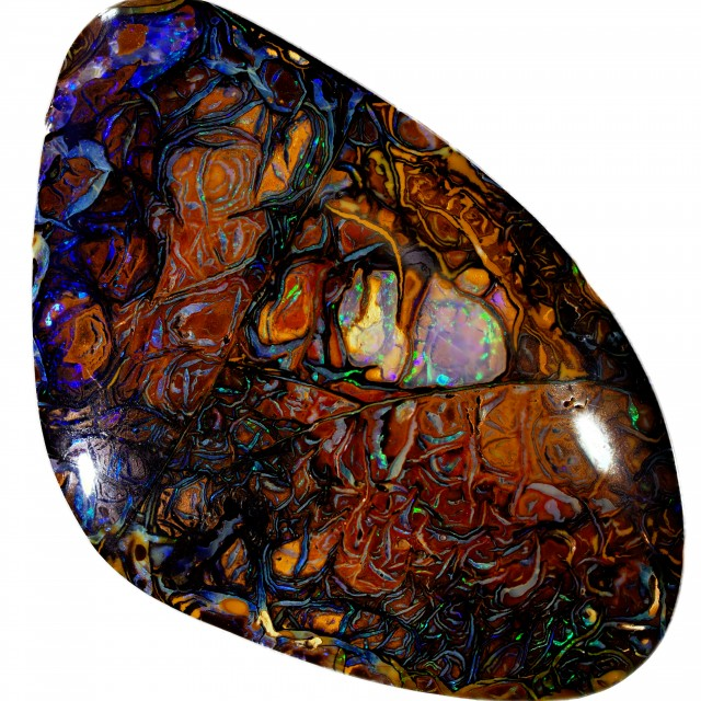 18.55 CTS STUNNING BOULDER OPAL FROM KOROIT [BMS232]