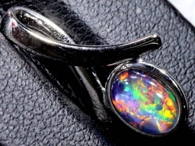 4.5CTS SILVER TRIPLET OPAL PENDANT OF-2051