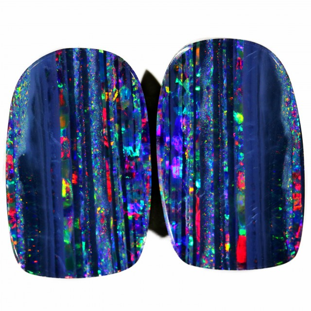 16.65 CTS TOP PAIR DOUBLET OPAL BB81