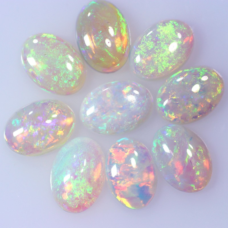 Neon bright  crystal opal parcel BB85