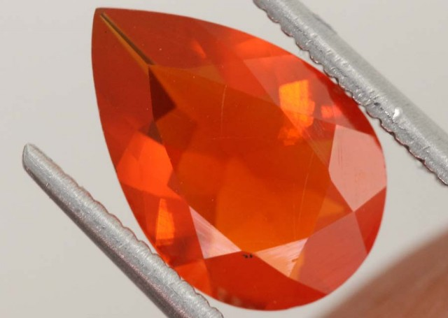 1.5 CTS MEXICAN FIRE OPAL  STONE FOB-1106