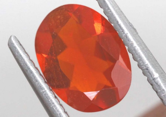 0.75 CTS MEXICAN FIRE OPAL  STONE FOB-1109