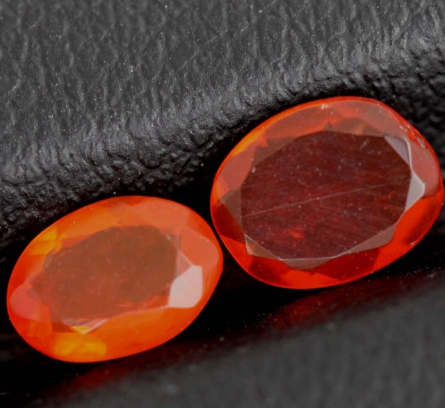 0.7 CTS MEXICAN FIRE OPAL  STONE FOB-1130