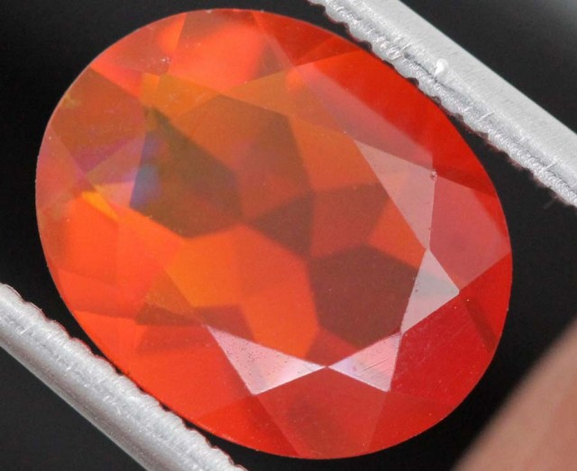 2CTS MEXICAN FIRE OPAL  STONE FOB-1140