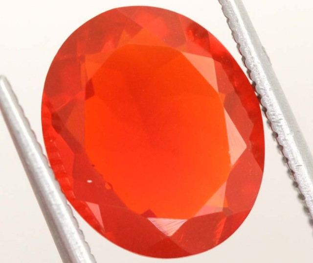 4.35CTS MEXICAN FIRE OPAL  STONE FOB-1147