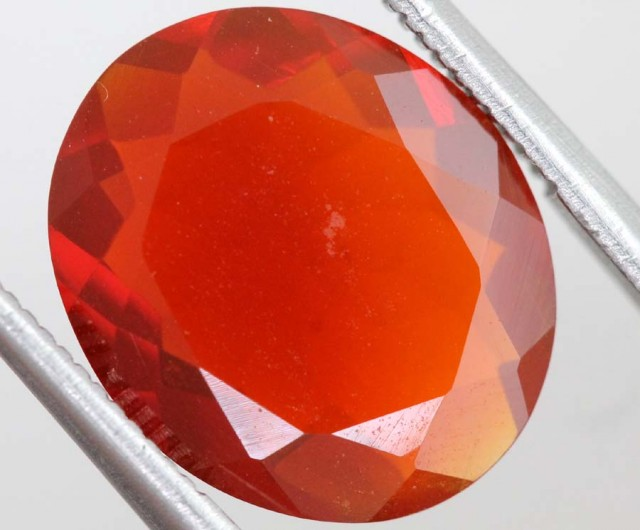 3.8CTS MEXICAN FIRE OPAL  STONE FOB-1149
