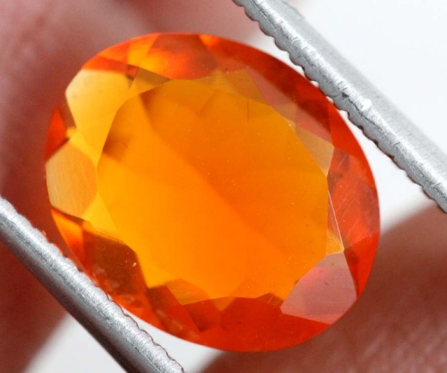 1.75CTS MEXICAN FIRE OPAL  STONE FOB-1160