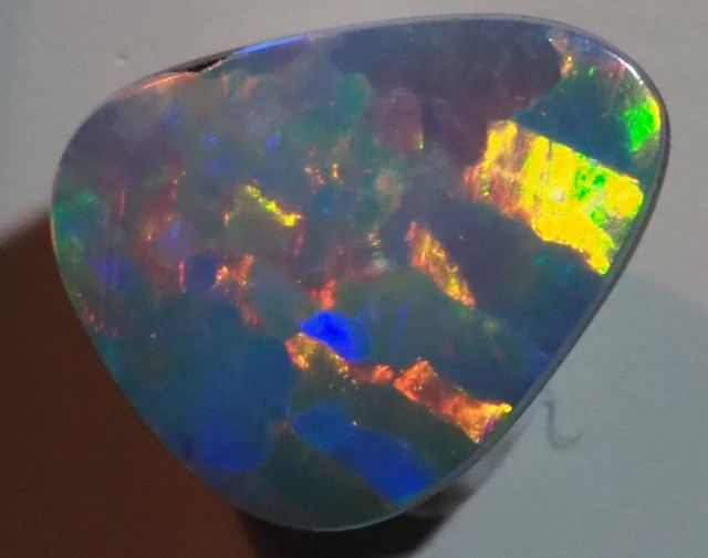 0.75CT GEM QUALITY BLACK OPAL DOUBLET  TO19