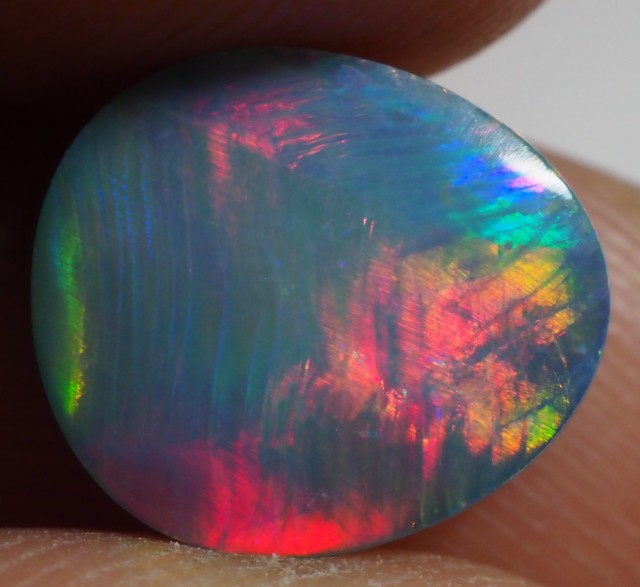 2.35CT GEM QUALITY BLACK OPAL DOUBLET  TO29