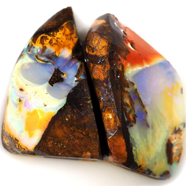 67.10 CTS BOULDER OPAL ROUGH PARCEL FROM KOROIT- [BR5664]