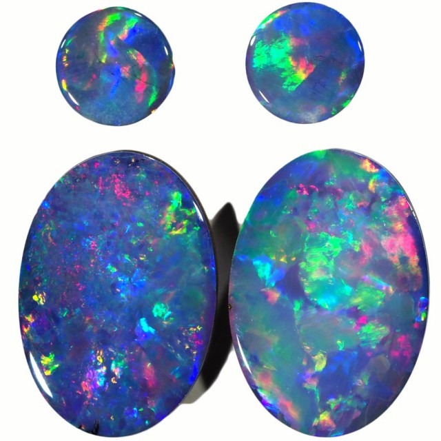 3.98 CTS OPAL DOUBLET PARCEL SET [SO9503]safe