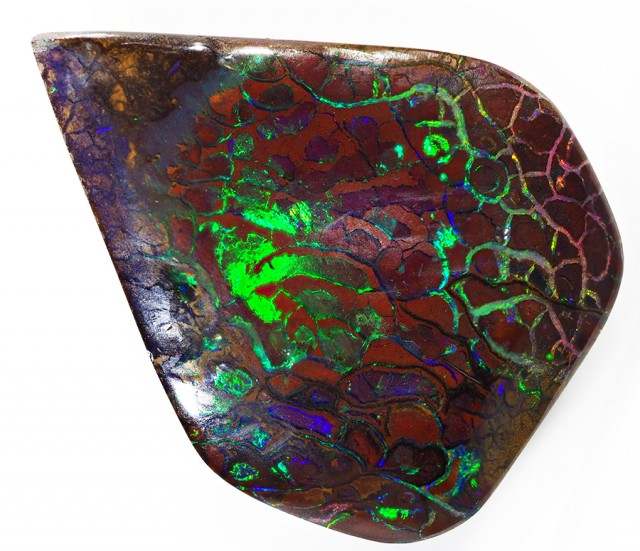 60.6CTS MINERS OLD STOCK  BOULDER OPAL CF 1381