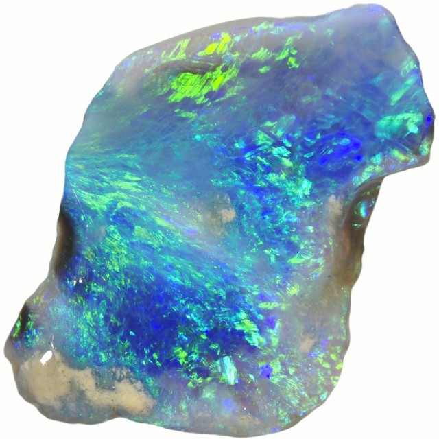 10.70 CTS BLACK  OPAL ROUGH -RUBBED/FACED [BR5712]