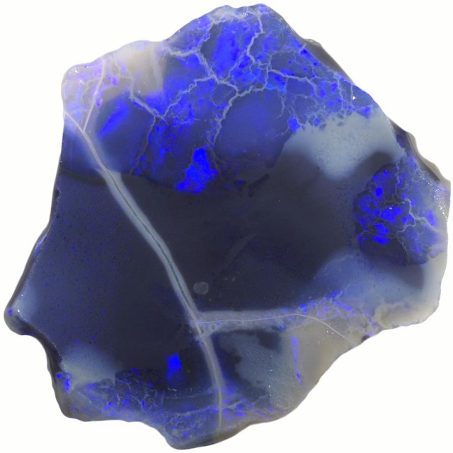 13.95 CTS BLACK  OPAL ROUGH -RUBBED/FACED [BR5720]