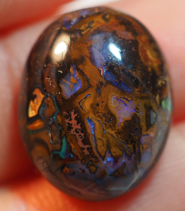 14.25CT VIEW KOROIT BOULDER OPAL   TO139