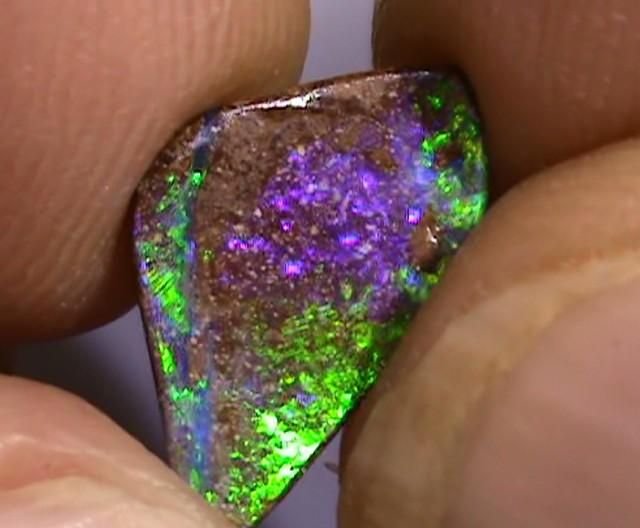2.35 ct Boulder Opal Natural Gem Blue Green