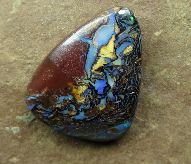 "12cts.""BOULDER MATRIX OPAL~NO MIDDLE MAN"""
