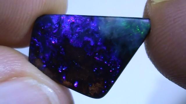 6.95 ct Beautiful Natural Blue Green Queensland Boulder Opal
