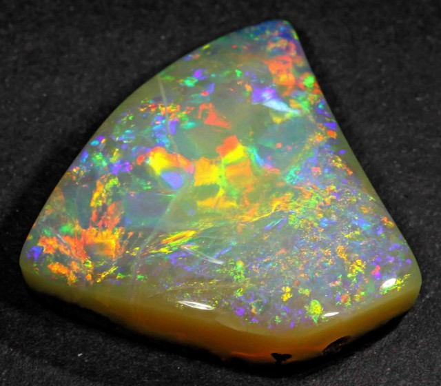 27.25 CTS BRILLIANT BOULDER OPAL FROM WINTON AREA- 27.25 CTS
