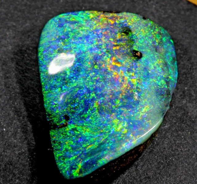 FREE SHIPPING  15.40 CTS VERY BRIGHT BOULDER OPAL FROM WINTON AREA
