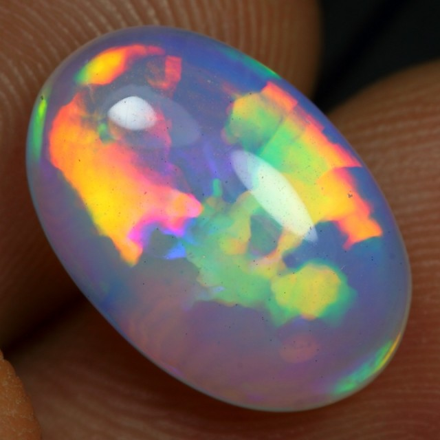 Christmas Sales 5.05cts AAA 3D PUZZLE PATTERN Natural Ethiopian Welo Opal