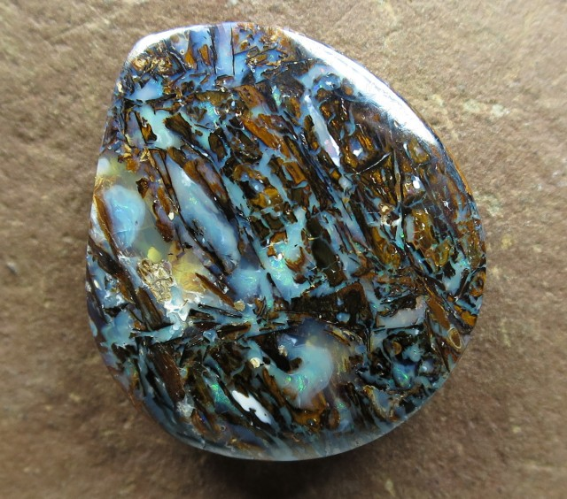 "36cts.""WOOD PATTERN OPAL~OPALIZED WOOD"""