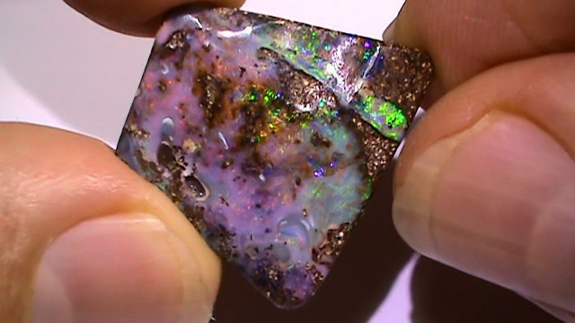 17.15 ct Boulder Opal With Multi Color