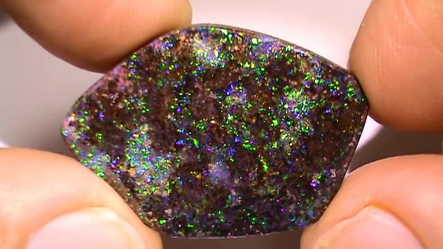 23.45 ct Boulder Opal Natural Gem Blue Green Color