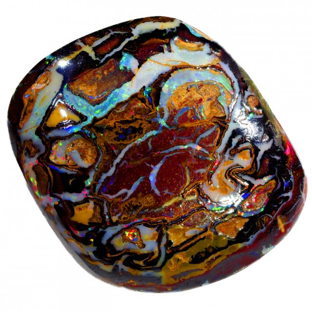 DOUBLE SIDED BOULDER OPAL STONE  BB118