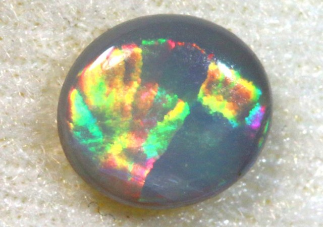 N7 - 0.6CTS BLACK OPAL POLISHED STONE TBO-7602
