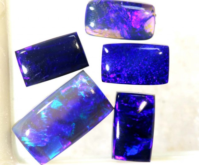 2.00CTS CRYSTAL OPAL POLISHED PARCEL 5PCS TBO-7633