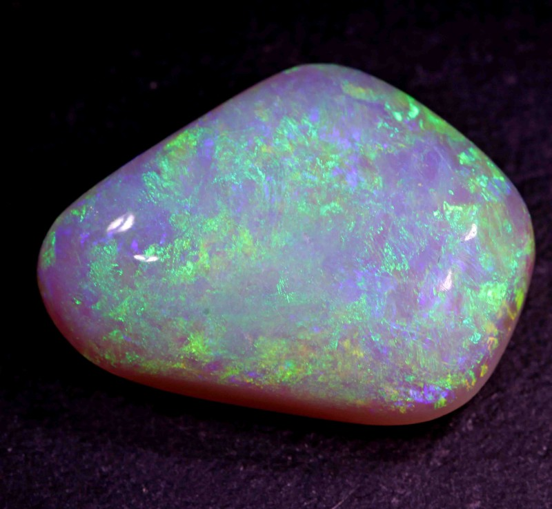 FREE SHIPPING  10.30 CT BLACK OPAL FROM LR - BIG STONE-LOW PRICE
