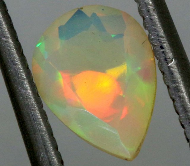 0.45CTS ETHIOPIAN FACETED STONE FOB-1188