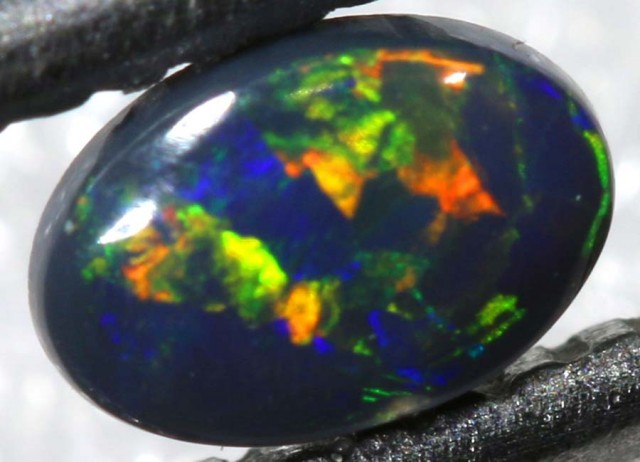 N-2 0.15CTS BLACK OPAL POLISHED STONE TBO-7649
