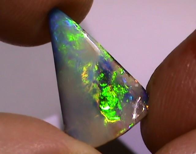 4.20 ct Solid Gem Blue Green Color Queensland Boulder Opal