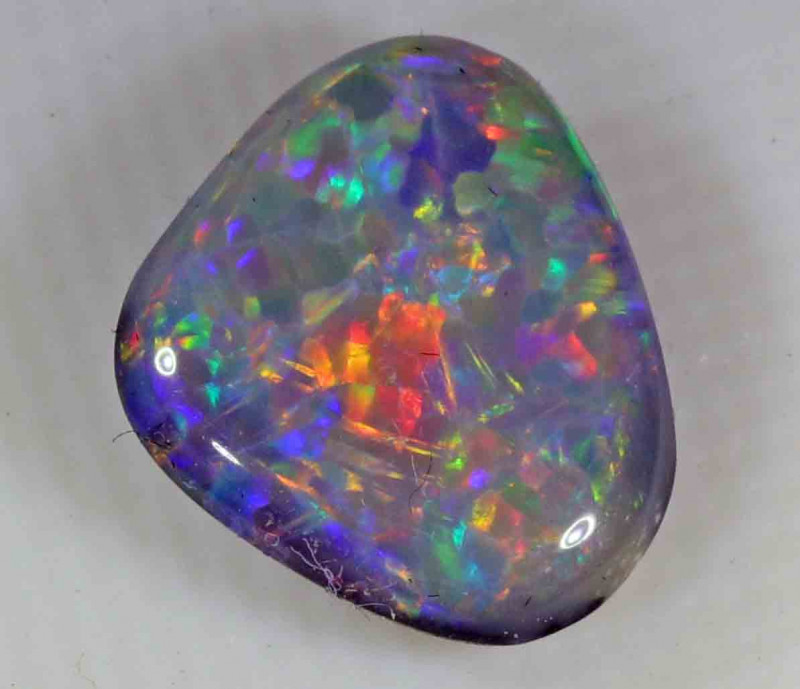 1.90 ct BLACK OPAL FROM LR