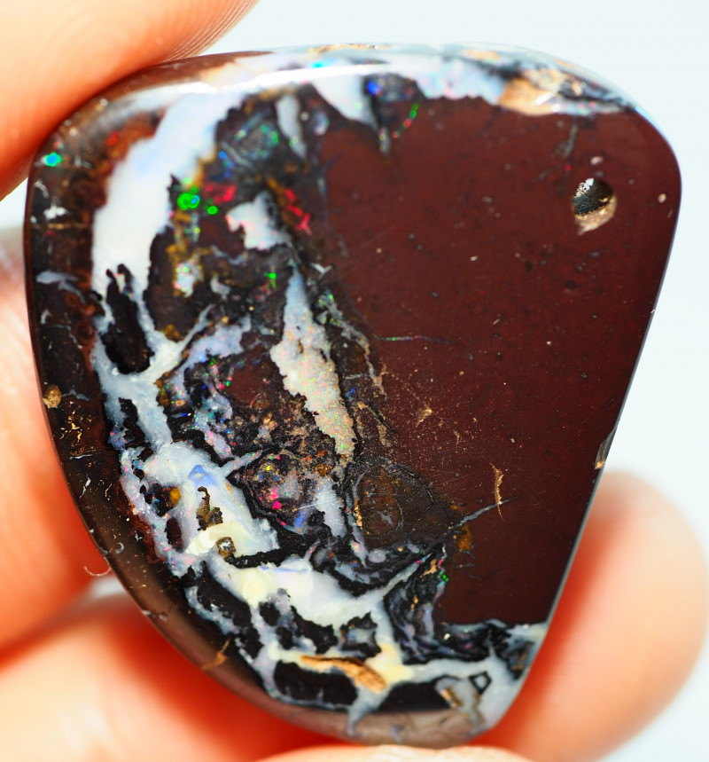 34.65CT DRILLED KOROIT BOULDER OPAL   SS0504