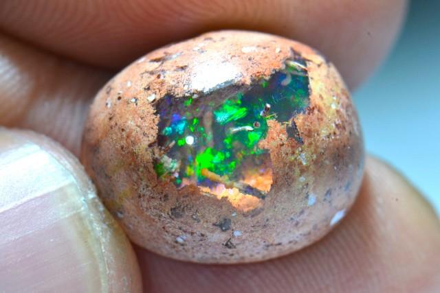 10.5ct Top colored Mexican Matrix Opal in Matrix