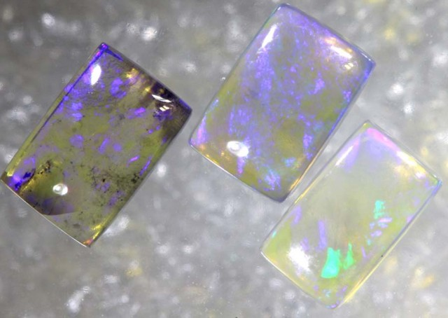1.4CTS CRYSTAL OPAL POLISHED PARCEL 3PCS TBO-7669