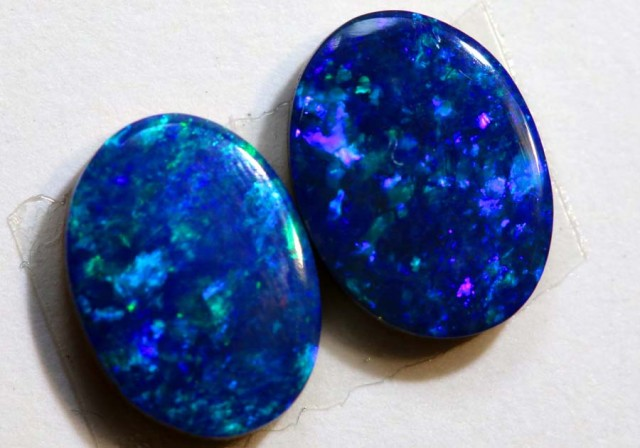1.67 CTS BEAUTIFUL DOUBLET OPAL PAIR  LO-4378