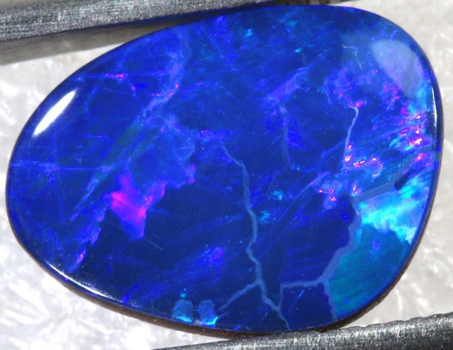 3CTS BEAUTIFUL OPAL DOUBLET TBO-7718