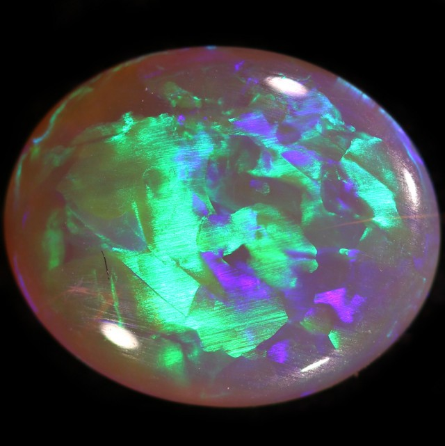 1.85 CTS CRYSTAL OPAL FROM LIGHTNING RIDGE [SO9616] SAFE